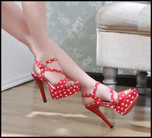 Womens-Slingback-Straps-Platforms-High-Heels-Shoes-Sandals-Pumps-Stilettos-Sz8-5