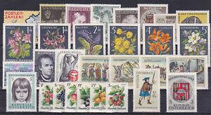 kompletter-Jahrgang-Osterreich-1966-postfrisch