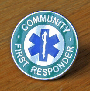 AMBULANCE-COMMUNITY-FIRST-RESPONDER-STAR-OF-LIFE-PIN-BADGE