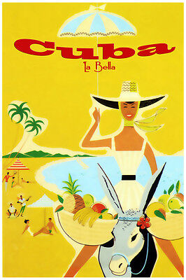 2365.Cuba such beautiful island travel POSTER.House interior wall Decorative Art