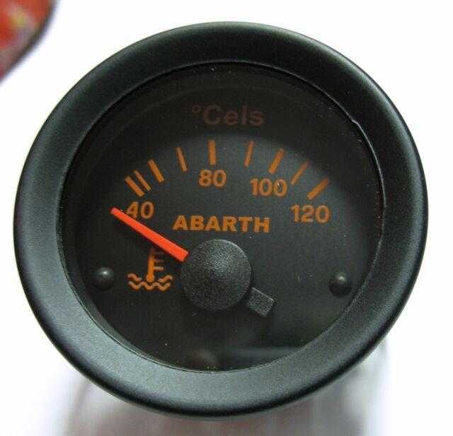 Manometro Temperatura Acqua water temp Abarth Lancia Delta Fiat 131 112