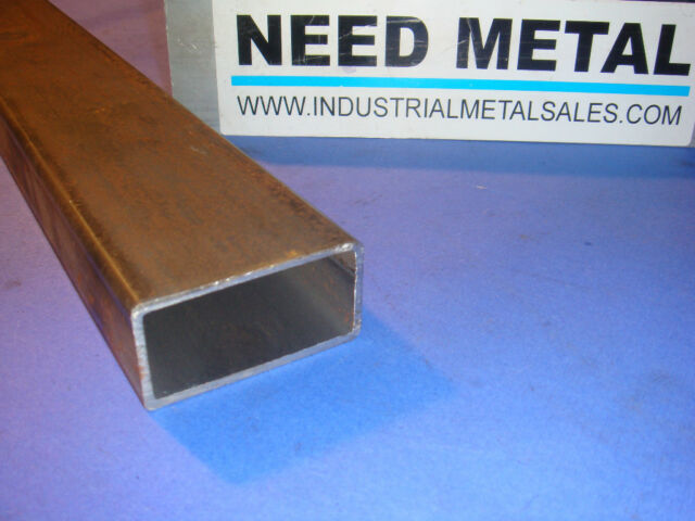 "2"" x 4"" x 18""-Long x 1/8"" Wall Steel Rectangle Tube -->2"" x 4"" x .125"" Box Tube"