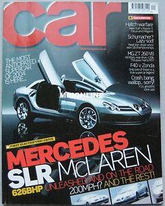 CAR-01-2004-featuring-McLaren-SLR-Ferrari-F40-Pagani-MG-AMG-Audi-Maserati