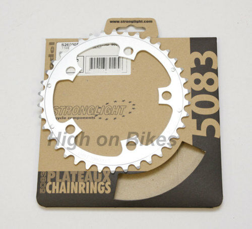 Stronglight Dural 5083 Inner Chainring 36T Shimano 9/10 110mm