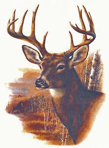 Ceramic-Decals-Buck-Deer-Profile-Plain-Background-Scene
