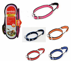 Bamboo-Quick-Control-Dog-Collar-w-Quick-Control-Handle
