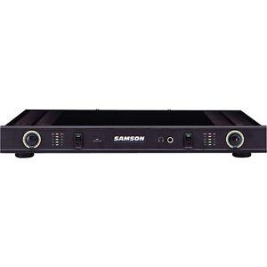 samson servo 120 stereo power amplifier. Black Bedroom Furniture Sets. Home Design Ideas