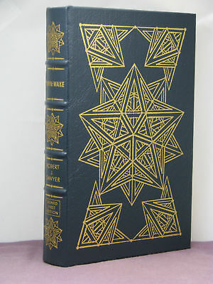 1st, signed by author, WWW.Wake by Robert Sawyer, Easton Press, Hugo finalist