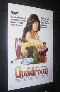 Original-QUADROON-1-Sheet-Kathrine-McKee-BLAXPLOITATION