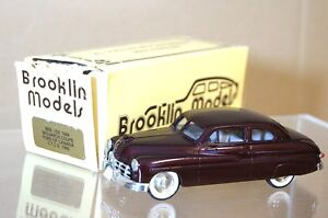 BROOKLIN-MODELS-BRK-15X-FORD-CANADA-MONARCH-COUPE-MAROON-MINT-BOXED-mq