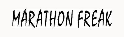 MARATHON FREAK Sticker Running Decal 13.1 Vinyl 26.2 Car 5k Laptop 10k Ironman