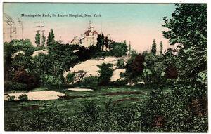 New-York-City-NYC-MORNINGSIDE-PARK-amp-ST-LUKES-HOSPITAL-Hagemeister-Postcard