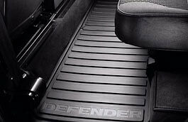 Land Rover Defender 110 2007 on Rear Footwell Rubber Mat, LR005041