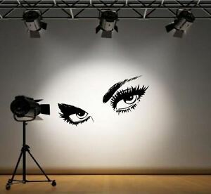 Giant Eyes Wall Decals  Stickers Home Decor  DIY EBay - Wall decals eyes