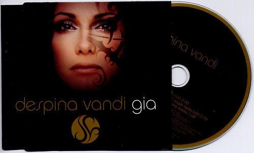 DESPINA VANDI Gia 2004 UK 3tk promo CD DJ Gregory Remix