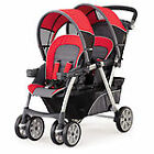Chicco Cortina Together Fuego Travel System Double Seat Stroller