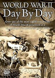 World War II - Day By Day - 3 DVD BOXSET - BRAND NEW SEALED (Z)