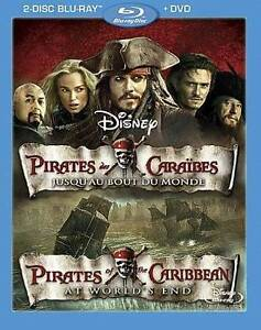 Pirates-of-the-Caribbean-At-Worlds-End-Blu-ray-ONLY-2011-2-Disc-DISC-MINT