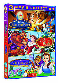 Beauty And The Beast 3 Movie Collection new DVD UK seller