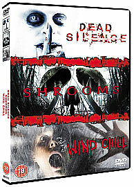 DEAD SILENCE SHROOMS WIND CHILL HORROR DVD BOX SET EMILY BLUNT 3 X DVDS