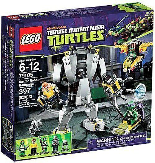 LEGO Teenage Mutant Mutant Mutant Ninja Turtles Baxter Robot Rampage 79105 ToysRus Exclusive d7c056