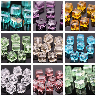 U Pick! Wholesale 1000pc 5600 Square 4mm Austria Crystal Beads For Bracelet Lot
