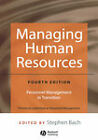 Managing Human Resources: Personnel Management in Transition by John Wiley and Sons Ltd (Hardback, 2005)