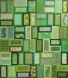 Green glass door quilt pattern blue underground studios for Red door design quilts