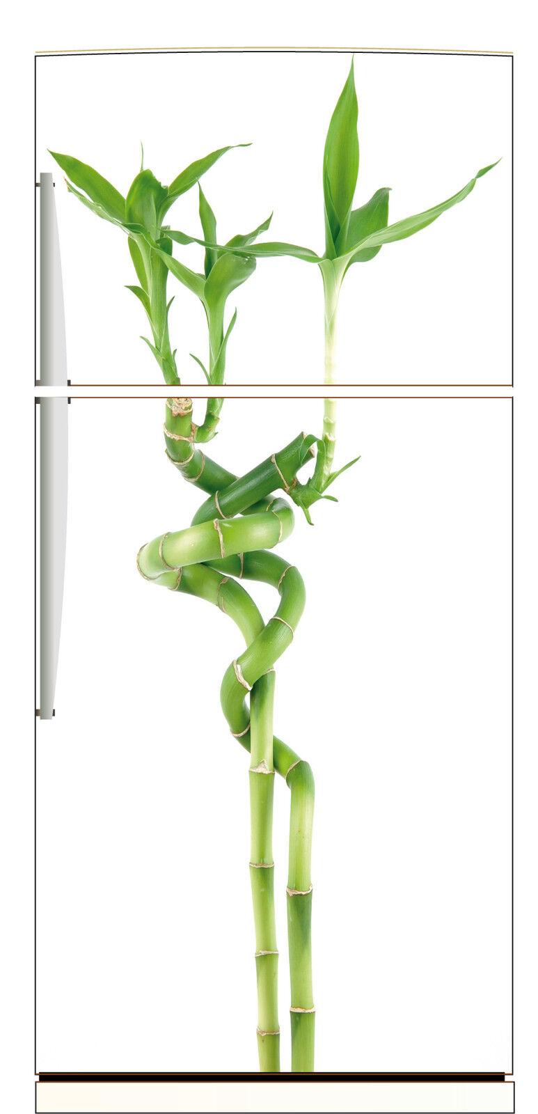 Aufkleber Kühlschrank Haushaltsgeräte Dekor Küche Bambus 70x170cm Ref 527