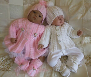 Free Knitting Patterns Baby Annabell Clothes : KNITTING PATTERN TO MAKE DUMPLINGS BABY / REBORN DOLL CARDIGAN AND ...
