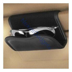 Car Sun Visor Sunglasses Eyeglasses Caddy Holder Clip