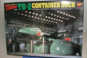 Thunderbirds Classic TB2 and CONTAINER DOCK 1/350 IMAI JAPAN