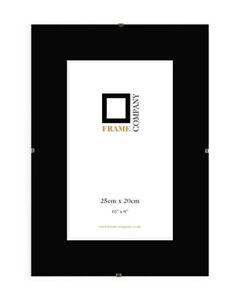 Styrene-Clip-Frames-Plastic-Glass-Choice-of-Sizes