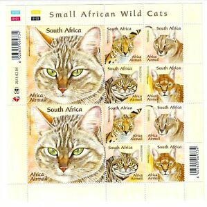 South-Africa-RSA-2011-Wild-Cats-Sheet-NHM