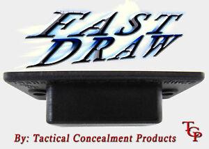 Fast-Draw-Gun-Magnet-Quick-Hidden-Hand-Pistol-Knife-Holster-Under-Desk-Storage