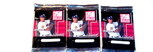3 new 2001 DONRUSS ELITE baseball HOBBY PACK packs MLB