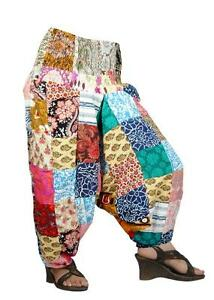 10-Patch-work-Alibaba-trousers-Yoga-Pants-boho-chic-gypsy-wholesale-lot-TR-22