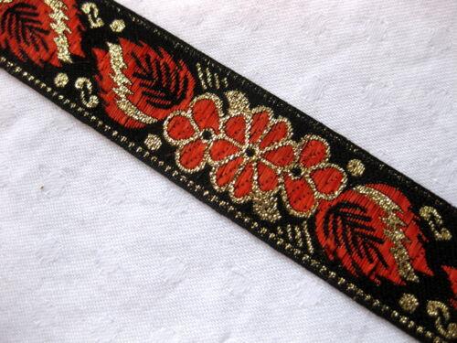 Orientalische Borte in verschiedenen Farben 24mm,lfm B4