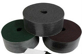 SCOURING ROLL MAROON MEDIUM  115mmX10Mtr PREPARES SURFACES FOR PAINTING