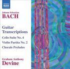 Johann Sebastian Bach - Bach: Guitar Transcriptions (2012)