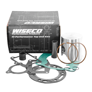 Wiseco-Top-End-Rebuild-Kit-1990-RM125-Piston-Rings-Pin-Bearing-Clips-Gasket