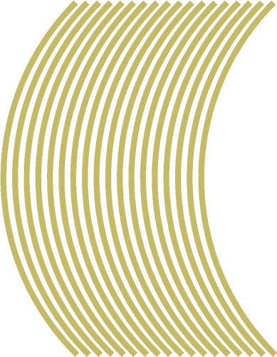 4mm strisce di ruota cerchio nastro striping adesivi in vinile 38 pezzi//9 per