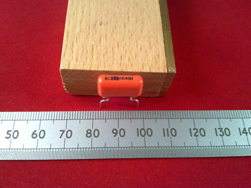 Metallised Polyester Capacitor 368 Orange Drop Plastic Film Cap Various 1