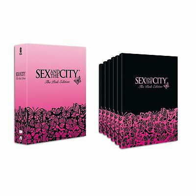 19 DVDs * SEX AND THE CITY - THE PINK EDITION # NEU OVP =