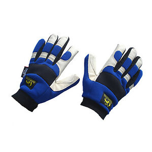 Golden-Stag-Pigskin-Leather-Thinsulate-Waterproof-Cold-Weather-Gloves
