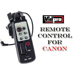 Tripod-LANC-Remote-Control-for-Canon-ZR-1000-ZR-2000