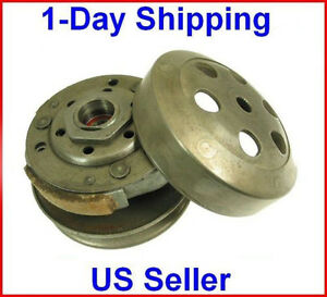COMPLETE-CLUTCH-ASSEMBLY-Scooter-Moped-50cc-50-Pads-GY6