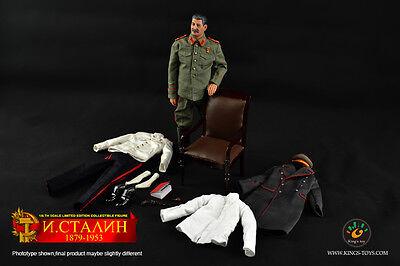 Kings Toys Soviet Joseph Stalin 1879-1953 1/6 Action Figure IN STOCK