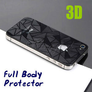3D-Diamond-FULL-BODY-Front-Screen-Back-Protector-Film-Guard-for-iPhone-4-4S-4G