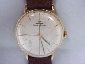 Jaeger-LeCoultre-Mens-9Ct-Gold-Watch-With-Leather-Strap